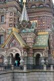 Sikt av St Petersburg. Royaltyfri Fotografi