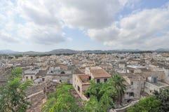 Sikt av staden av Arta Royaltyfri Fotografi