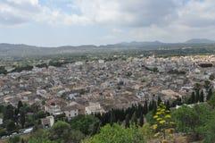 Sikt av staden av Arta Royaltyfri Foto