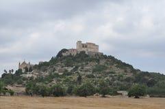 Sikt av staden av Arta Arkivfoto