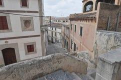 Sikt av staden av Arta Royaltyfri Bild