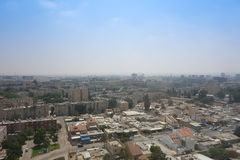 Sikt av staden av öl Sheva Royaltyfri Fotografi