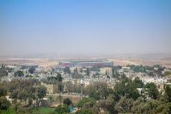 Sikt av staden av öl Sheva Royaltyfria Foton