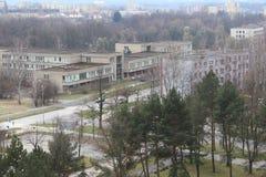 Sikt av staden av Karvina Fotografering för Bildbyråer