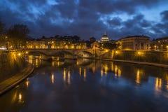 Sikt av staden av Rome Royaltyfri Fotografi