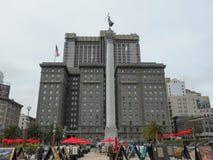 Sikt av staden av San Francisco Arkivbilder
