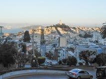 Sikt av staden av San Francisco Royaltyfria Bilder