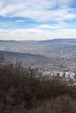 Sikt av staden av Tbilisi tbilisi Arkivfoto