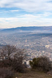 Sikt av staden av Tbilisi tbilisi Royaltyfri Foto