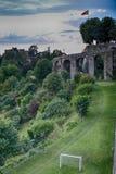 Sikt av staden, Bergamo, Italien Arkivbild