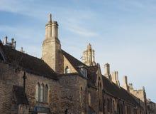 Sikt av staden av Ely royaltyfri bild