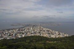Sikt av staden - Florianópolis/SC - Brasilien royaltyfri foto