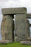 Sikt av stenkvarter på Stonehenge, England Arkivfoton