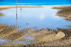 Sikt av stranden av San Juan de Alicante, Spanien Royaltyfria Foton