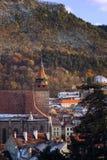 Sikt av svarta kyrkan på Brasoven Royaltyfria Foton
