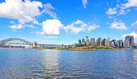 Sikt av Sydney Fotografering för Bildbyråer