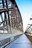 Sikt av Sydney Harbor Bridge Royaltyfri Foto