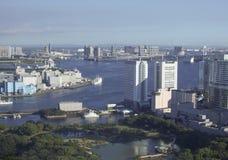 Sikt av Tokyo Japan Arkivbild