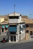 Sikt av Toledo gator spain toledo Royaltyfri Bild