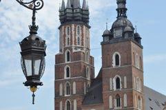 Sikt av tornet av St Mary Royaltyfria Foton
