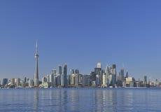 Sikt av toronto cityscape Kanada Royaltyfri Bild