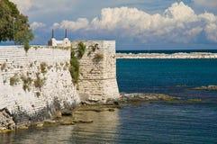 Sikt av Trani Puglia italy Royaltyfria Foton