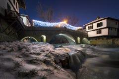 Sikt av Tryavna, Bulgarien, Europa Royaltyfri Foto