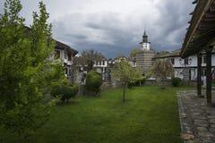 Sikt av Tryavna, Bulgarien, Europa Royaltyfria Foton