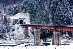 Sikt av tunnelen arkivbild