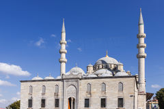 Sikt av Turkiet ny istanbul moské Arkivbilder