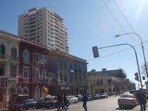 Sikt av Valparaiso, Chile royaltyfri foto