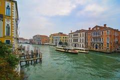 Sikt av Venedig, Italia, Europa Royaltyfri Bild