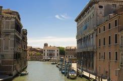 Sikt av Venedig - Italien Arkivfoto
