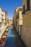 Sikt av venice, Italien Arkivbild