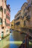 Sikt av venice, Italien Arkivfoto