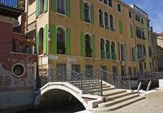 Sikt av venice, Italien Royaltyfri Foto