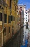 Sikt av venice, Italien Arkivbilder