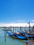 Sikt av venice - Italien Arkivbilder