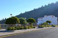 Sikt av Vilaflor, Tenerife Royaltyfria Foton