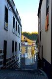 Sikt av Vilaflor, Tenerife Arkivfoton