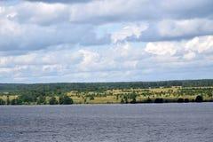 Sikt av Volgaen arkivfoton