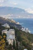 Sikt av Yalta Arkivbilder