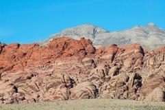 sikt för 2 berg Arkivbild