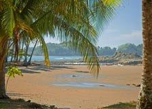 sikt för 7 strand Arkivbilder