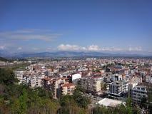 Sikt för Antalya Manavgat stadsfågel royaltyfri foto