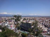 Sikt för Antalya Manavgat stadsfågel royaltyfri bild