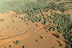 sikt för antenn outback Arkivbilder