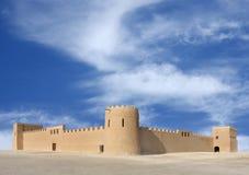 sikt för bahrain härlig östlig fortriffa Arkivbild