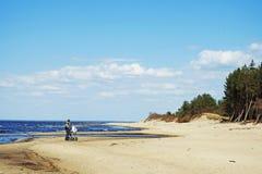 Sikt för baltiskt hav royaltyfri foto