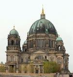 Sikt för Berlin domkyrkabyggnad Royaltyfri Bild